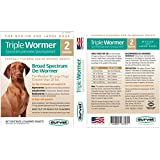 Triple Wormer for Medium and Large Dogs 2 Pack