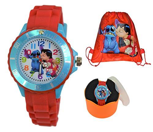 Lilo and Stitch Silicone Analog Quartz Watch for Kids/Children.