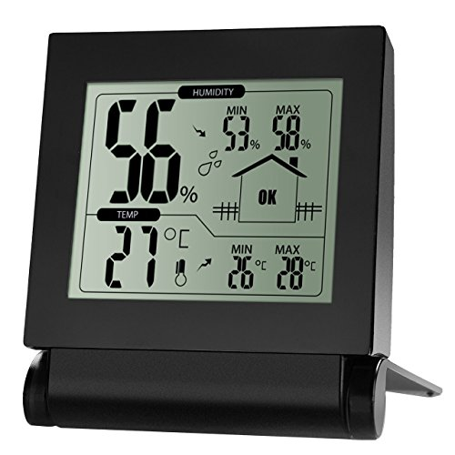 Primacc-Temperature-Humidity-Monitor-Indoor-Room-Wireless-Digital-Humidity-Gauge-Humidity-Monitor-Thermometer-and-Hygrometer