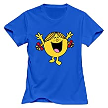 StaBe O Neck Little Miss Sunshine Women's T-Shirt L RoyalBlue