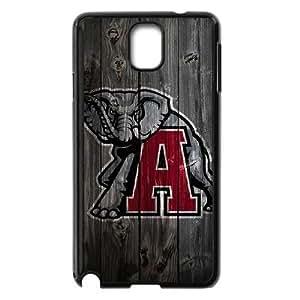 Alabama Crimson Tide Samsung funda Galaxy Note 3 Caso de la cubierta Negro caja del teléfono celular Funda Cubierta EDGCBCKCO01817