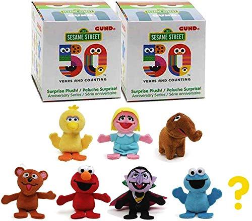GUND Sesame Street 50th Anniversary Surprise Plush (3