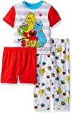 Sesame Street Boys Elmo 3-Piece Pajama Set