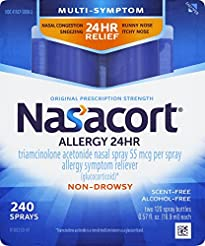 Nasacort Allergy 24 Hour Nasal Spray, 16...