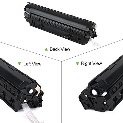 80%OFF Aztech 2 Pack Replaces HP 83A CF283A Black Toner