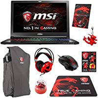 MSI GS63VR STEALTH PRO-078 Pro Extreme (i7-7700HQ, 32GB RAM, 512GB NVMe SSD + 1TB HDD, NVIDIA GTX 1070 8GB, 15.6 Full HD 120Hz 3ms, Windows 10) VR Ready Gaming Notebook