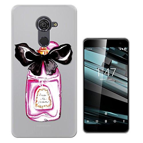 C0200 - Fashion Perfume Bottle Vintage Look Design Vodafone Smart Platinum 7 (5.5