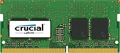 Crucial 16GB Kit (8GBx2) DDR4 2133 MT/s (PC4-17000) SODIMM 260-Pin Memory - CT2K8G4SFD8213 by Crul9
