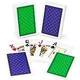 Copag Class Standard 100% Plastic Playing Cards, Bridge Size, Jumbo Index