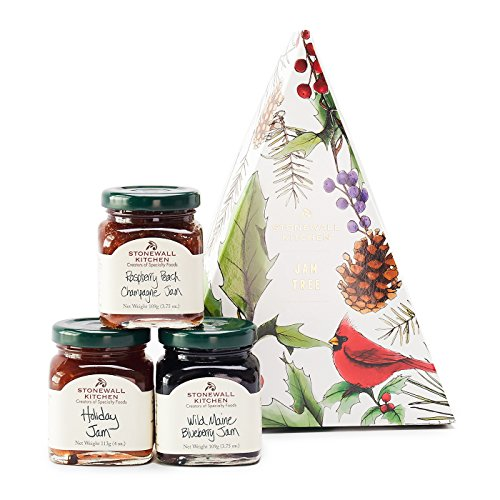 Stonewall Kitchen Holiday 2018 Jam Tree made in New England