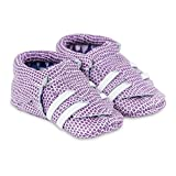 KINBE Soft Sole Adjustable Leather Baby Moccasins