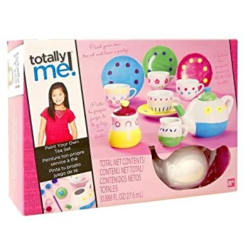 Totally Me! Paint Your Own Tea Set by Toys R Us (English ...