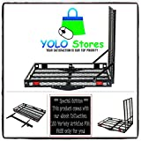 Electric Wheelchair Ramp Trailer Hitch Carrier Ramps Heavy Duty Folding Mobility Medical Scooter By YOLO Stores