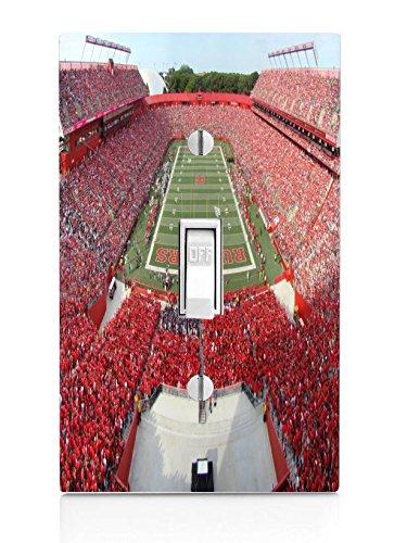 College Football Stadiums Light Switch Plate