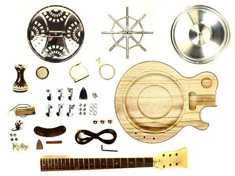 Unfinished Caja de resonancia guitarra electroacústica guitarra DIY Kit Project: Amazon.es: Instrumentos musicales