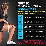 POWERLIX Knee Compression Sleeve - Best Knee