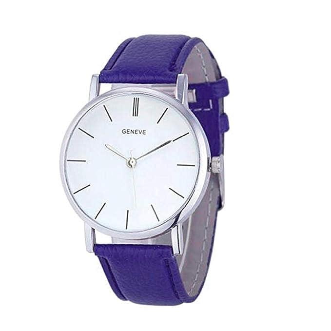 Scpink Relojes de Cuarzo para Mujeres, Liquidación Relojes analógicos para Mujer Relojes Relojes de Cuero para Mujer Reloj de Negocios de Estilo Casual ...