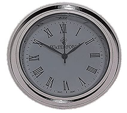 Amazoncom Waterford Clock Face Insert Medium Round Roman