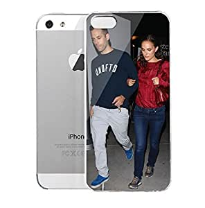 iPhone 5S Case ArcligbtHollywoed Natalie Portman And Her Husband At Arclight Cinemas In Hollywood Hard Plastic Cover for iPhone 5 Case