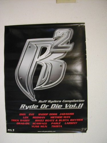 Amazon com : Ruff Ryders Poster Compilation Ryde or Die Volume II 2