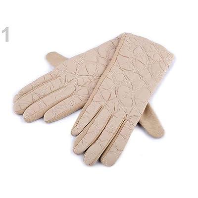1 par (vel) Guantes acolchados para mujer, accesorios de moda para otoño e invierno (vel): Juguetes y juegos