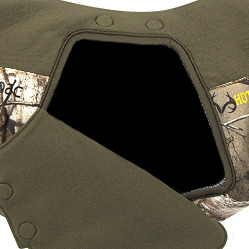 Hot Shot Unisex Textpac Cold Weather Thinsulate Insulated Hand Muff with Touchscreen Window Technology, Realtree Xtra, One Size