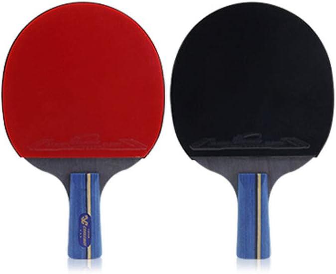 Extraordinary Raqueta de Tenis de Mesa Tenacity,Raqueta de Tenis de Mesa con Traje,2 Raquetas,3 Pelotas más Bolsa