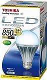 TOSHIBA E-CORE(イー・コア) LED電球(E26口金・一般電球形9.4W 白熱電球60W相当 850ルーメン・昼白色) LDA9N