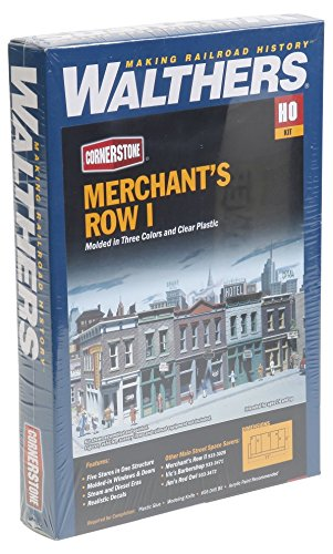 Walthers Cornerstone Series Kit HO Scale Merchant's Row I from Walthers Cornerstone Series Kit