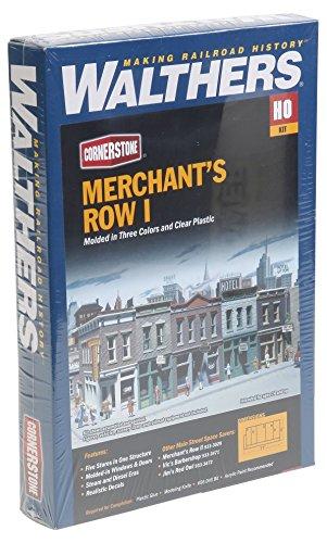 Walthers Cornerstone Series Kit HO Scale Merchant's Row I ()