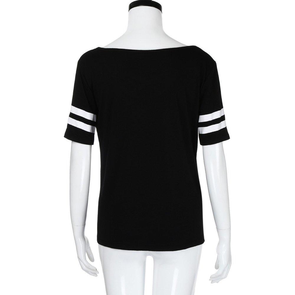 Lonshell_Tops - Camiseta de manga corta para mujer, diseño ...
