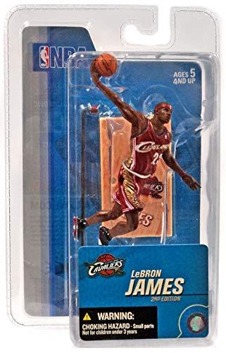 3 Figure Inch Mcfarlane - Lebron James - Cleveland Cavaliers - NBA / 3 inch - 2nd Edition - McFarlane Figure