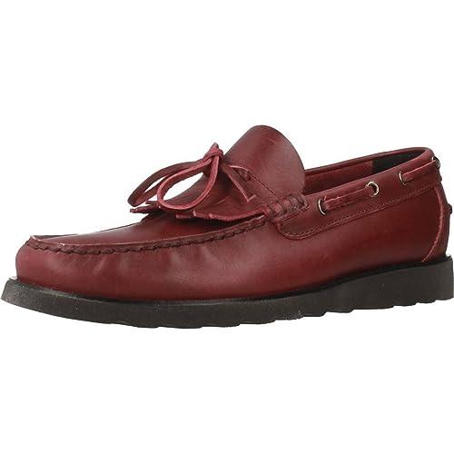 Mocasines para Hombre, Color Rojo, Marca GEOX, Modelo Mocasines para Hombre GEOX UOMO Worker Rojo: Amazon.es: Zapatos y complementos