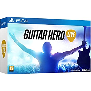 Image of Games Guitar Hero Live with Guitar Controller (PS4)