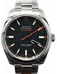 Milgauss swiss-automatic mens Watch 116400 (Certified Pre-owned)