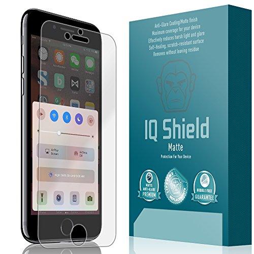 IQ Shield Matte Screen Protector Compatible with iPhone 7 (Maximum Coverage) Anti-Glare Anti-Bubble Film