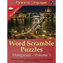 Parleremo Languages Word Scramble Puzzles Hungarian - Volume 3