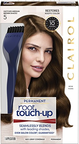 Clairol Nice n Easy Touch, Up, 005, Medium Brown, 2 pk
