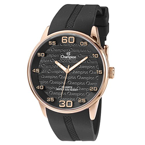 Champion CH30206P Men's Watch Rose Gold Case With Three-Dimensional Dial - Rose Champion Gold