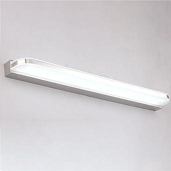 QWM-Badspiegellampe Moderne Wasserdichte Anti-Fog Led ...