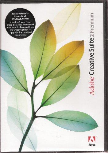 Adobe Creative Suite 2 Premium, 2005, with Adobe Creative Suite 2.3 Premium Upgrade, 2006 (7 CDs)