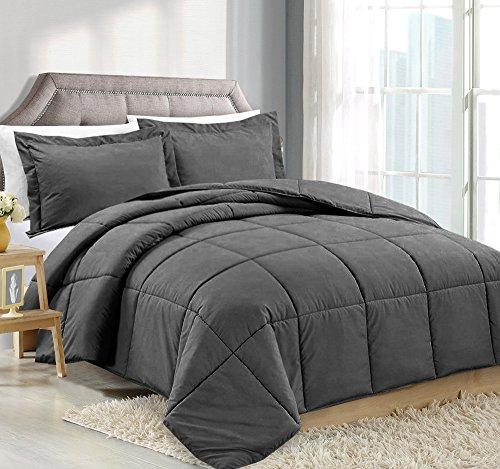 Comforter Reversible Duvet Insert Shams