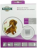 PetSafe Original Plastic Pet Door with Hard Transparent Flap - White - Small