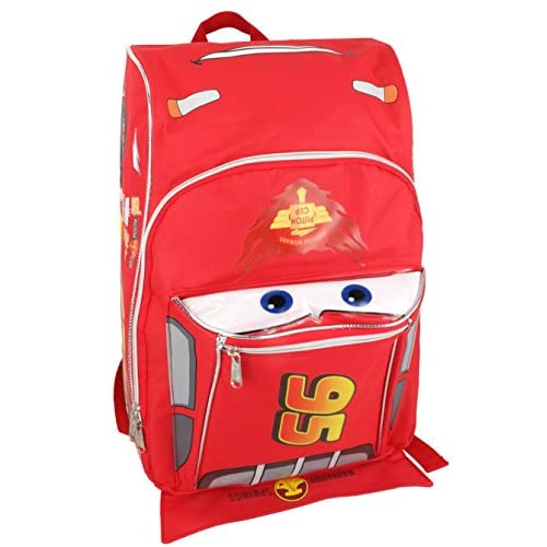 Hospitable Disney Cars Mcqueen Backpack Kids Boys Kids' Clothing, Shoes & Accs