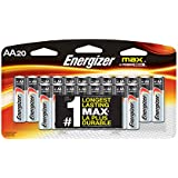 Energizer AA Batteries, Max Alkaline (20 Count)