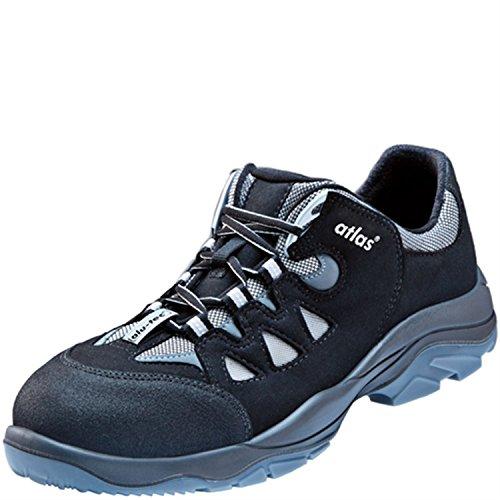 Atlas - Zapatillas de trabajo, de Alutec, 125XP, (Clase: EN ISO 20345:2011 S1P), color negro, talla 47 EU