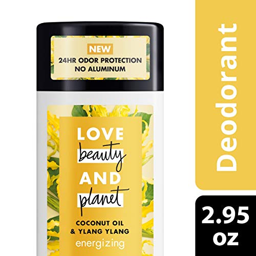 Love Beauty And Planet Deodorant, Coconut Oil and Ylang Ylang, 2.95 oz