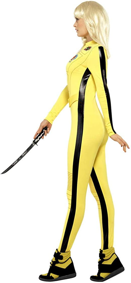 Kill Bill Damenkostüm: Amazon.es: Deportes y aire libre