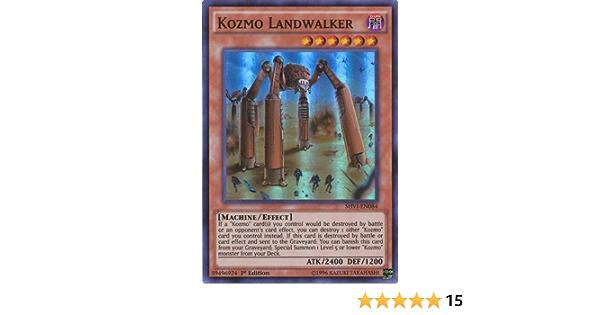 Yugioh Kozmo Landwalker SHVI-DE084 Super Rare