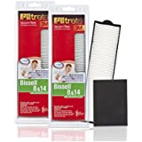 3M Filtrete Bissell 8 & 14 Vacuum Filter, 2 Pack